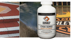 Liquid Colorant for Concrete, C-Series Color