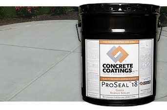 Concrete Sealer Acrylic Cure and Seal, ProSeal