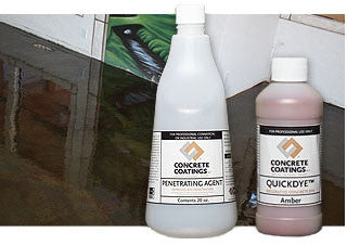 Concrete Stain, Quick Dye Acetone Based Stain
