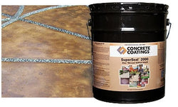 Concrete Sealer, Acrylic SuperSeal 2000