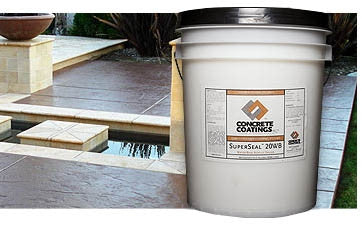 Concrete Sealer, Acrylic SuperSeal Water-Based