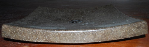 Concrete Vessel Sink, Shallow Serenity