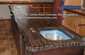 "Concrete Edge Form Liner - 2"" Tree Bark"