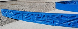 "Concrete Edge Form Liner - 2"" Bullets & Casings"