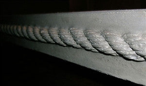 "Concrete Edge Form Liner - 2"" Rope"