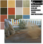 Concrete Color Hardener, True Impression