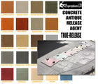 Concrete Colored Antiquing Accent Powder Release