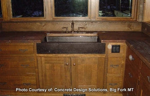 Concrete Countertop Sink Mold, DB11- Farm Lav 34""
