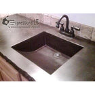 Concrete Countertop RUBBER Sink Mold, SDP-14 Arch Ramp
