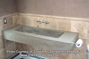 Concrete Countertop Sink Mold, DB15- Trough 40""