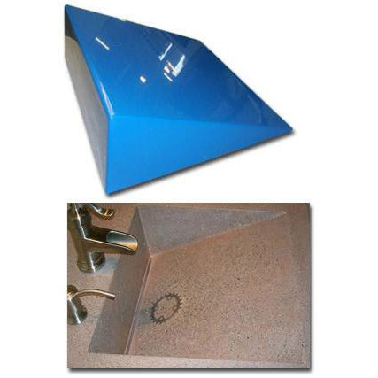 Expressions Ltd Concrete Countertop Rubber Sink Mold