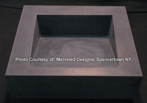 Concrete Countertop Sink Mold, DB2- Ramp