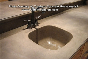 Concrete Countertop RUBBER Sink Mold, SDP-20 - Utility