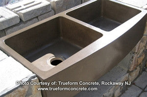 Concrete Countertop RUBBER Sink Mold, SDP-22 - Rectangle 18""