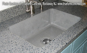Concrete Countertop RUBBER Sink Mold, SDP-24- Farm 24""