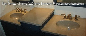 Concrete Countertop RUBBER Sink Mold, SDP-28 Oval Small