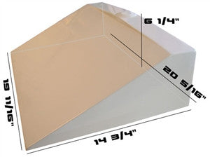 Concrete Countertop RUBBER Sink Mold, SDP-29 Traditional Ramp