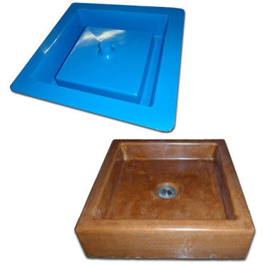 Concrete Countertop Sink Mold, Vessel Box