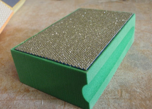 Diamond Sanding Block Hand Pads