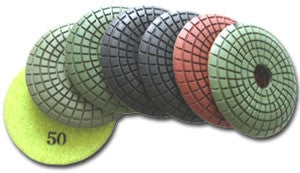 Diamond Polishing Pads, EXPell 3-Inch Convex