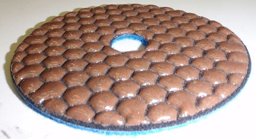 Diamond Polishing Pads, EXPell 4-Inch DRY
