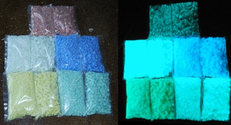 Expressions Ltd Glow In The Dark Rocks Chips And Sand Dust