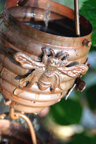 Rain Chain Copper Honey Bees