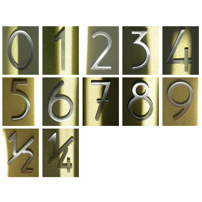 "HouseArt 3"" Numbers and Letters"