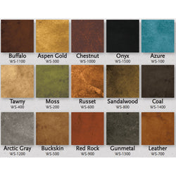 Concrete Water Based Stain - Living Earth - 4oz Samples