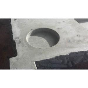 Concrete Mold, Drink Cupholder Insert