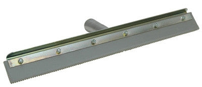 18-Inch QLT Notched Squeegee, 1/8-Inch Notch Size