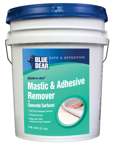 Glue Adhesive Mastic Remover for Concrete, Bean e Doo