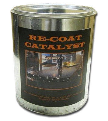 Rocktop CT Re-coat Catalyst Performance Boost