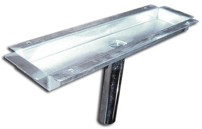 Slot Drain Pan, Stainless Steel