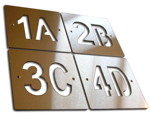 Custom Stainless Steel Number / Signage