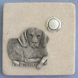 Beagle Dog Breed Stone Doorbell