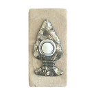 Arrowhead Doorbell Stone Cover