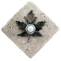 Maple Leaf Stone Doorbell