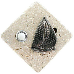 Sailboat Stone Doorbell