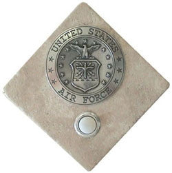 Military Stone Doorbell US Air Force