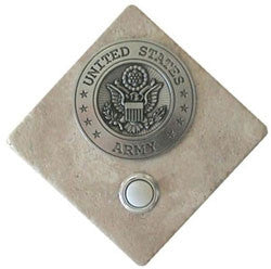 Military Stone Doorbell US Army