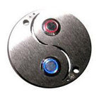 Stainless Steel Yin Yang Doorbell