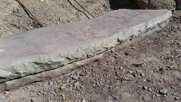 Expressions Ltd Concrete 7 Quot Rock Step Form Liner For Steps