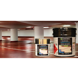 Concrete Colored Sealer, Surecrete SureSeal Solvent Based Pigmented Acrylic