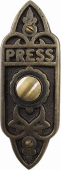 Antique Doorbell 1606 Victorian Style