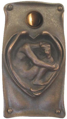 Antique Doorbell 1613 Art Nouveau Style