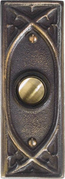 Antique Doorbell 1614 Gothic Style