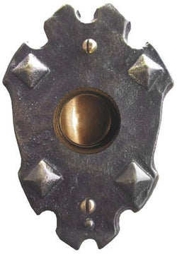 Antique Doorbell 1623 Craftsman Brass