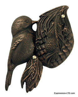 Chickadee Knocker - Oil-Rubbed Bronze
