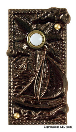 Sailboat Doorbell - Oil Rubbed Bronze